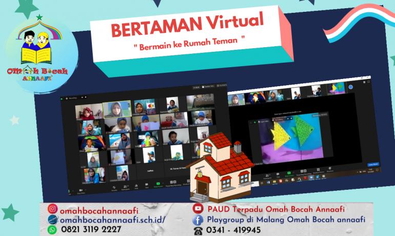Bermain ke Rumah Teman Virtual PAUD Terpadu Omah Bocah Annaafi' Malang