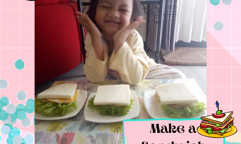 Cooking Time – Cooking Class – Make a Sandwich